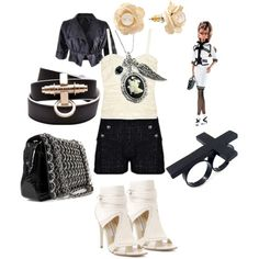 Chanel Inspired, created by closetshoefetish on Polyvore