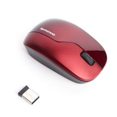 65% off Wireless Mouse N3902A - Red for $10.5 @ Lenovo - HotDeals.com