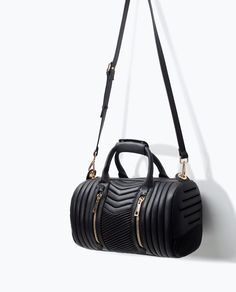 Image 6 of QUILTED BOWLING BAG from Zara