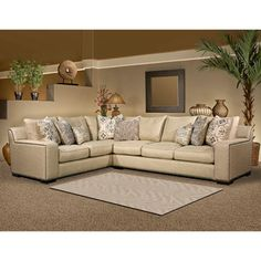 Fairmont Designs Made To Order Adele Two Piece Sectional Set