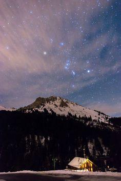 Skynight Above Teysachaux (Switzerland) (Conrad Zimmermann)