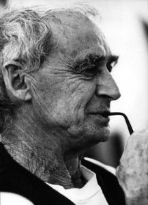 Paolo Soleri, Italian Visionary architect who created the experimental Arizona eco-town, Arcosanti.