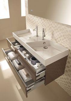 Vanity double sink modern bathroom sink vanity double sink vanity with large drawers small modern bathroom . Modern Sink Vanity, Modern Bathroom Sink, Bathroom Rules, Double Sink Vanity, Modern Bathroom Design, Kohler Bathroom, Bathroom Sink Vanity, Bathroom Shelves, Pirate Bathroom Decor