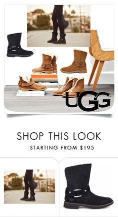 """The New Classics With UGG: Contest Entry"" by byzec ❤ liked on Polyvore featuring UGG and ugg"