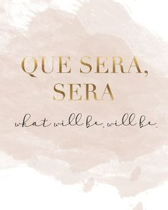 Q: Quote to live by? Que Sera Sera, so important to realise what will be, will be. Can't change what you are not in control of.  https://www.decoralist.com/about/