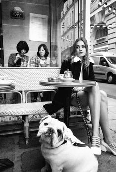 Nadja Bender by Cedric Buchet for Elle France October 2015