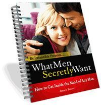 What Men Secretly Want PDF Free Download. Written by relationship expert James Bauer, What Men Secretly Want is an inside guide to the male mind in order to understand how men think, what they really want and how to use this information to enhance your relationship. Understanding your man and what he wants can be the difference between a successful relationship and a failed one. Have you ever found yourself in a relationship where things were goi