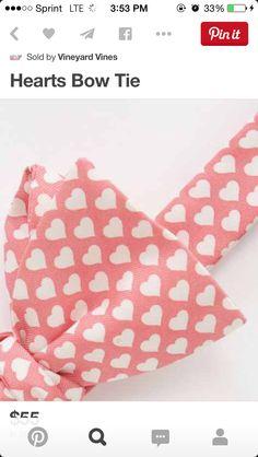 Valentine's bow tie