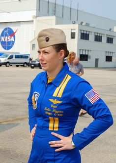 USMC Captain Katie Higgins is the first woman Blue Angels pilot in history #Neshing