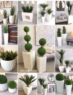 House Plants Decor, Plant Decor, Small Backyard Landscaping, Backyard Patio, Patio Design, Garden Design, Green Wall Decor, Modern Villa Design, Minimalist Garden