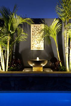 Water Features & Sculptures - The Garden Light Company Photo Gallery - Meditation areas