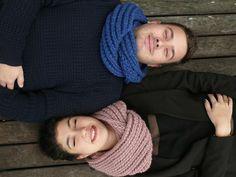 Poppy: un nouveau snood à tricoter en quelques heures pour soi ou pour tous ceux qu'on aime !...