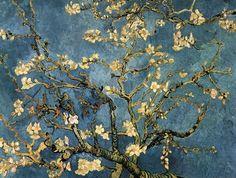 Van Gogh - Blossoming Almond Tree, Saint-Remy