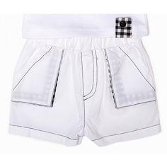 Short avec poches - bulle de bb : Mon Premier Doudou, Pantalons & combi