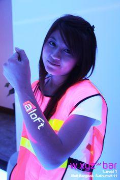 Blacklight #neon #party at #wxyzbar