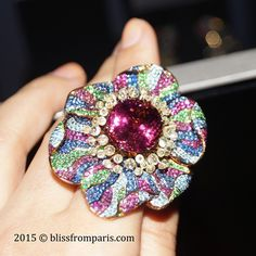 Poppy Ring by Jewellery Theatre