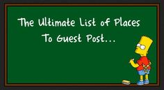 Listed below is my MASSIVE list of 600+ Websites Where you can syndicate your content around the web… Over 600+ Sites where you can guest post, contribute articles, submit links, news, etc&#8…