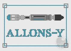 Allons-y - Doctor Who Sonic Screwdriver