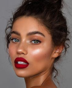 everyday makeup looks, natural makeup looks, no makeup makeup, affordable makeup. - Make up Glam Makeup, Makeup Inspo, Makeup Ideas, Makeup Glowy, Drugstore Makeup, Red Lipstick Makeup, Makeup Light, Sephora Makeup, Makeup Guide