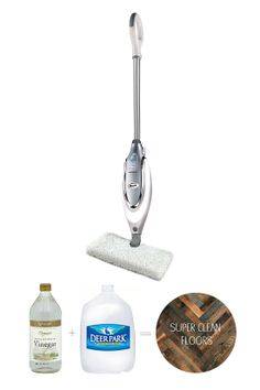 Just Added Vinegar To My Shark Steam Mop Wood Floors Are