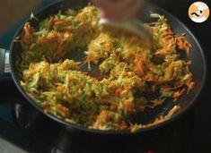 Medallones de verdura (fáciles y rápidos), Receta Petitchef Veggie Patties, 20 Min, Guacamole, Tapas, Side Dishes, Veggies, Lunch, Stuffed Peppers, Cooking