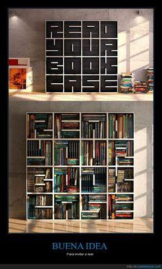 Buena idea para invitar a leer - Para invitar a leer   Gracias a http://www.cuantarazon.com/   Si quieres leer la noticia completa visita: http://www.estoy-aburrido.com/buena-idea-para-invitar-a-leer-para-invitar-a-leer/