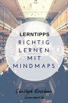 What is a mind map? - One of the best learning methods! - In order to learn properly, it is not absolutely necessary to know a lot. German Language Learning, Learn A New Language, Spanish Language, Learning Methods, Learning Process, School Motivation, Study Motivation, Importance Of Education, Learning To Relax