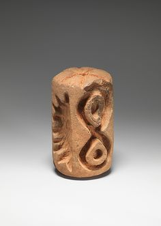 Roller Stamp  Date:     5th–6th century Geography:     Costa Rica Culture:     Atlantic Watershed Medium:     Ceramic Idea for corks.
