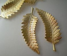 Hey, I found this really awesome Etsy listing at https://www.etsy.com/listing/175644000/4-large-brass-fern-leaf-charms