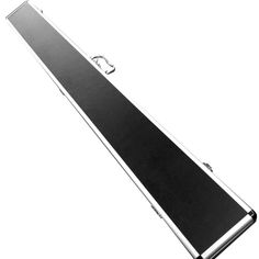 Black Aluminium 3/4 Jointed Cue Case - Holds 2 Cues