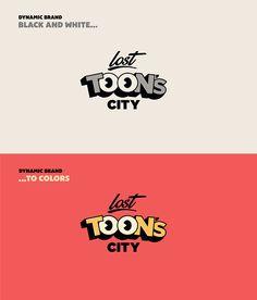 Lost Toon's City - Theme Park Branding on Behance