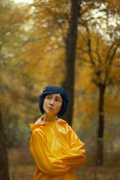 I cannot deal with how perfect this Coraline Cosplay is!