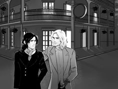 I-want-my-IWTV | remarried: some Louis and Lestat from my Patreon... Lestat And Louis, The Vampire Chronicles, Interview With The Vampire, Fandoms, Fan Art, Fictional Characters, Vampires, Fantasy Characters, Fandom