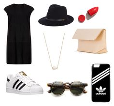 """""""Untitled #32"""" by hlh14 on Polyvore featuring MuuBaa, adidas, rag & bone, Kendra Scott, NARS Cosmetics and Iala Díez"""
