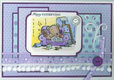 Father's Day card 2013; LOTV stamp