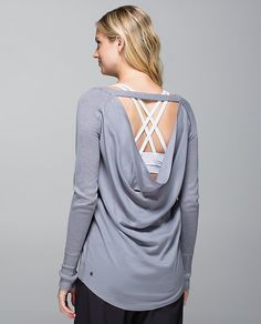 Super comfy & hangs great!  Unity Pullover Made with lightweight, silky-soft fabric, this pullover layers easily over our favourite tank. It's cut low and loose to mimic the freeflowing feeling we get post-Savasana. Cuddly kittens not included.  fabric + features made of two super soft fabrics - Boolux™ fabric in the front for warmth and TENCEL® in the back for breathability lightweight and soft to keep you cozy after practice
