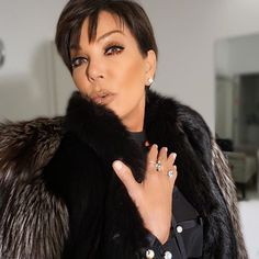 Pin for Later: 14 Celebrities Who Look Killer in Kylie's Lip Kit Kris Jenner in Dolce K