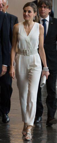 29 Jun 2017 - Queen Letizia attends Princess of Girona Foundation awards