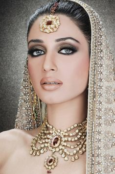 .Iman Ali Bridal Makeover Shoot By Ather Shahzad