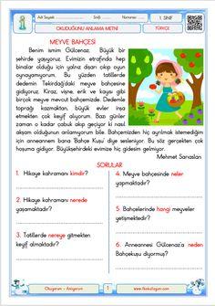 Turkish Lessons, Learn Turkish, Turkish Language, Marmaris, Worksheets, Learning, Books, Turkish People, Libros