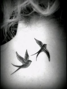 Swallow Bird Tattoos for Women : 26 Swallow Tattoo Designs And ...