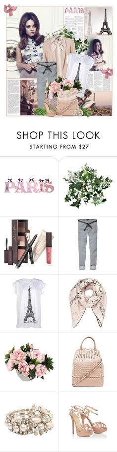 """Mila Kunis"" by kristina01 ❤ liked on Polyvore featuring WALL, Laura Mercier, Scotch & Soda, Agent Provocateur, Valentino, Miu Miu and Charlotte Olympia"