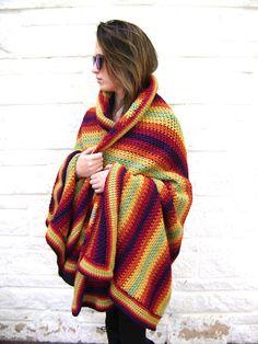 Creative Designs by Sheila Zachariae: New Autumn #Crochet Blanket Pattern