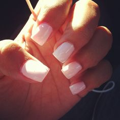 simple nails, love the cut.