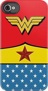 Coolest Wonder Woman iPhone Case
