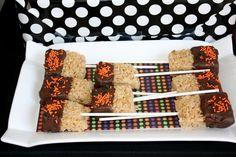 Rice crispy treats dipped in Velata Chocolate!  www.adona.velata.us