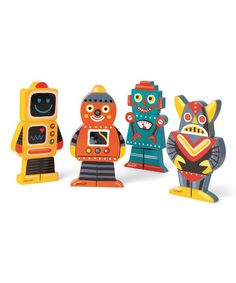 Janod Funny Robot Magnet Set | zulily