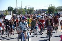 The Tour de Fat is a great community event sponsored by New Belgium Brewery, brewers of Fat Tire.