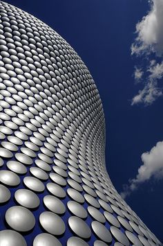 Selfridges store, Birmingham, UK; by Future Systems Architecture.