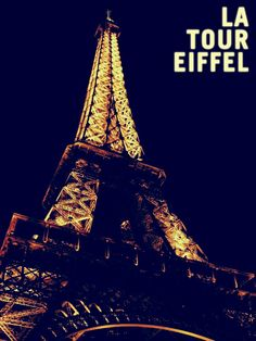 The Eiffel Tower - the symbol of France.